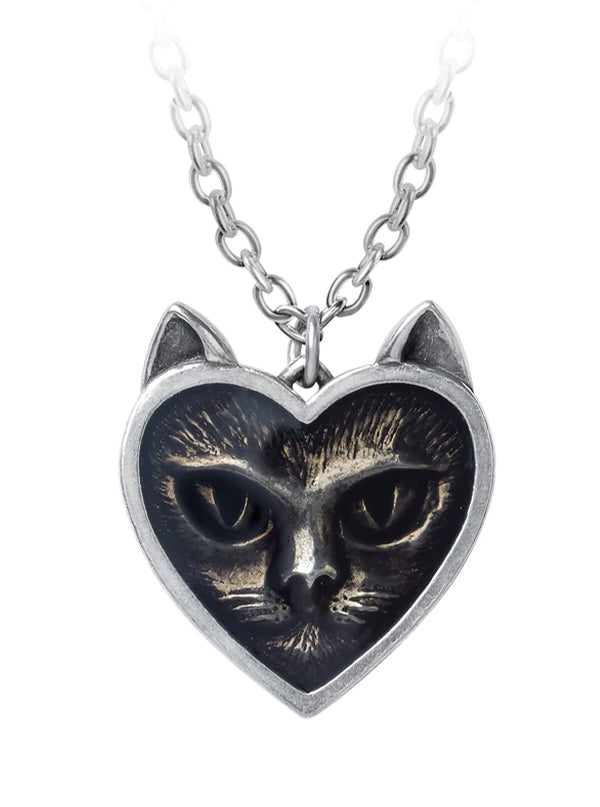 Love Cat Pendant by Alchemy of England