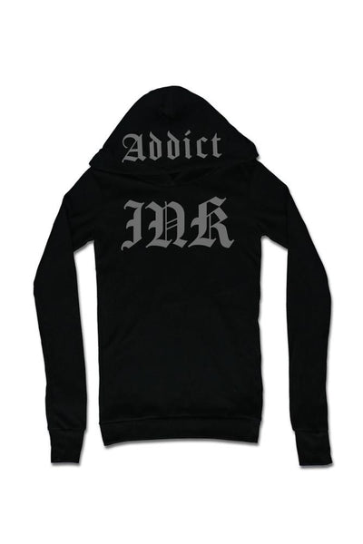 "Women's ""Ink Lettering"" Thermal Hoodie by InkAddict (More Options)"