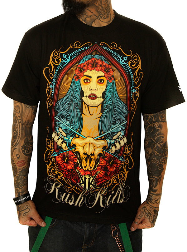 Men's Majestic Serenity Tee by Kush Kills Clothing