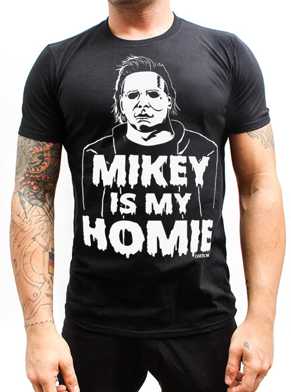 Men's Mikey Is My Homie Tee by Cartel Ink