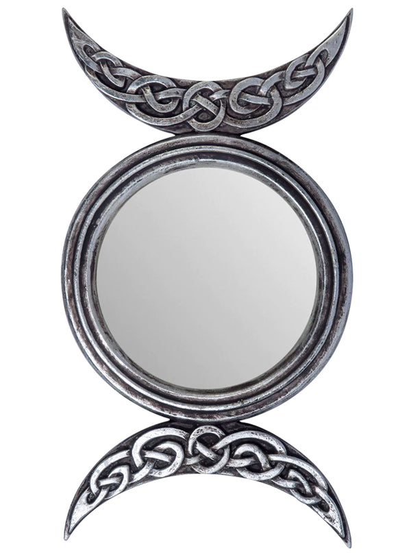 Triple Moon Mirror by Alchemy of England