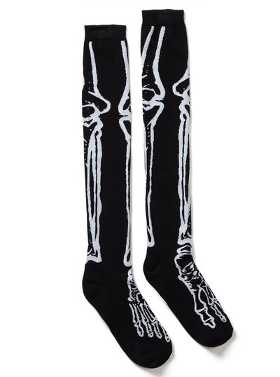 Morgue Long Socks by Killstar