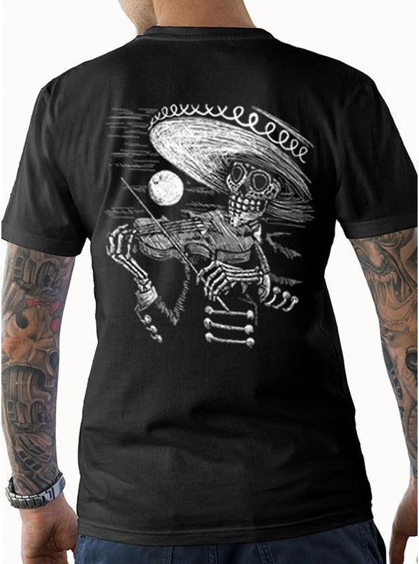 "Men's ""Face the Music"" Tee by Tat Daddy (Black)"