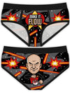"Women's ""Make It Flow"" Period Panties by Harebrained!"