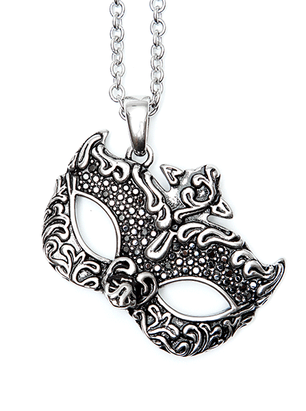 Masquerade Mask Necklace by Controse