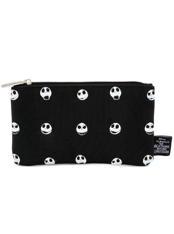 Nightmare Before Christmas: Jack Head Nylon Pouch by Loungefly