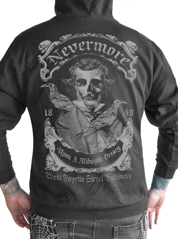 Men's Nevermore Hoodie by Serpentine Clothing