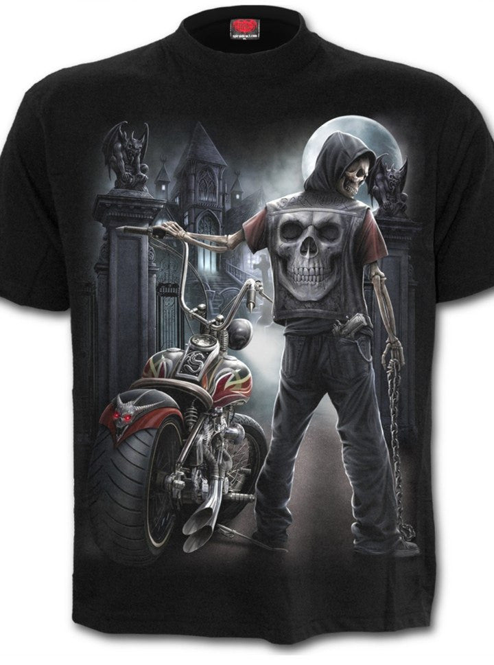 "Men's ""Night Church"" Tee by Spiral USA (Black) - www.inkedshop.com"