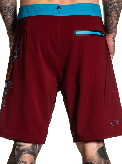 Men's Noonan Tiger Boardshort by Sullen