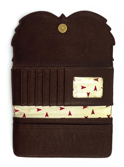 """Owl"" Wallet by Loungefly (Brown)"