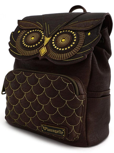 """Owl"" Mini Backpack by Loungefly (Brown)"