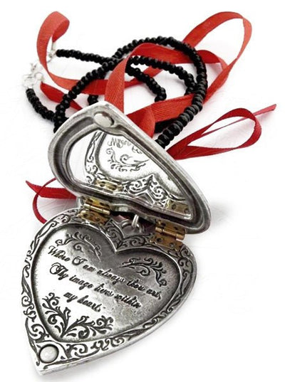 "The ""Reliquary Heart"" Locket by Alchemy of England - www.inkedshop.com"