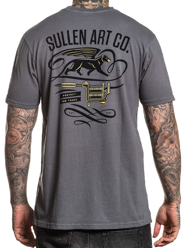 Men's Panther Wing Tee by Sullen