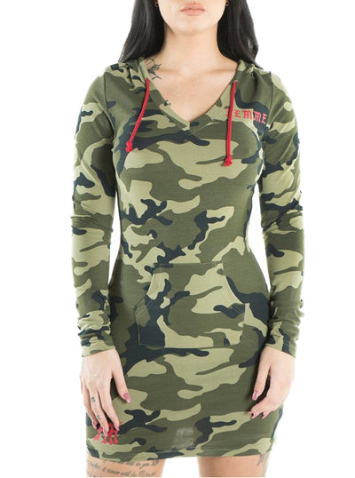 "Women's ""Ecstatic Parade"" Hoodie Dress by Headrush Brand (More Options)"
