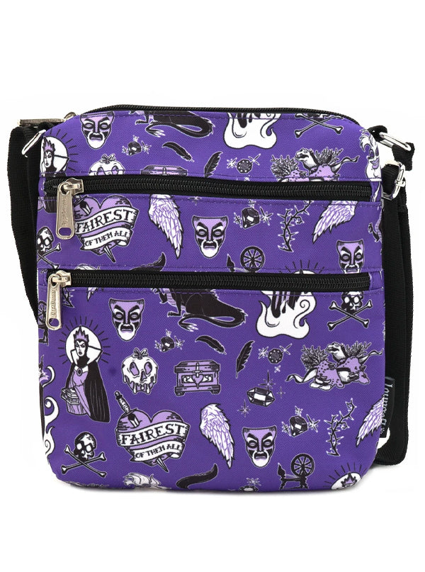 Disney Villain Passport Bag by Loungefly
