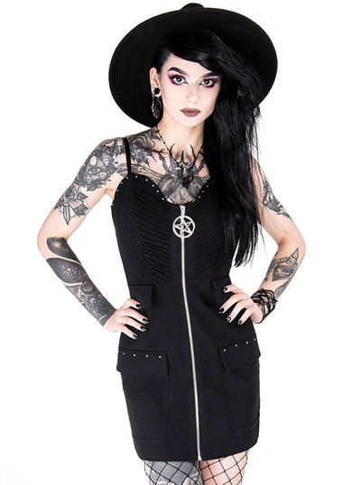 Women's Celeste Pentagram Mini Dress by Restyle