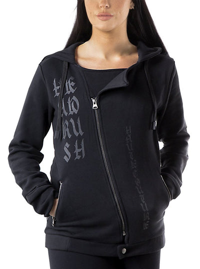 Women's Take A Bow Zip Up Hoodie by Headrush Brand