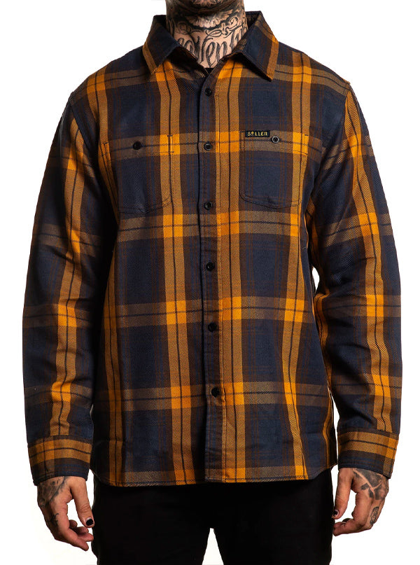 Men's Pilsner Flannel by Sullen