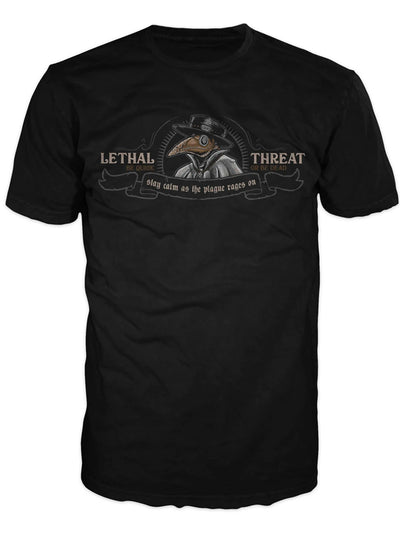Men's Plague Doctor Tee by Lethal Threat