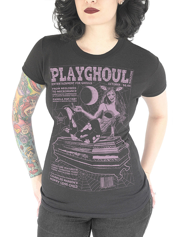 Women's Playghoul Tee by Serpentine Clothing
