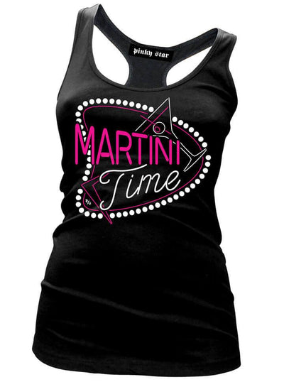 "Women's ""Martini Time"" Collection by Pinky Star (Black) - www.inkedshop.com"
