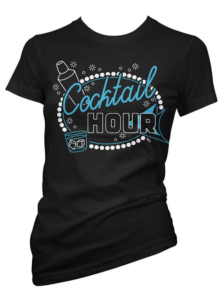 "Women's ""Cocktail Hour"" Collection by Pinky Star (Black) - www.inkedshop.com"