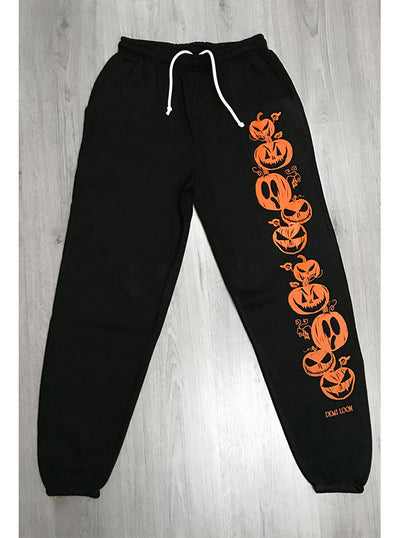 Women's Wicked Pumpkin Sweats by Demi Loon