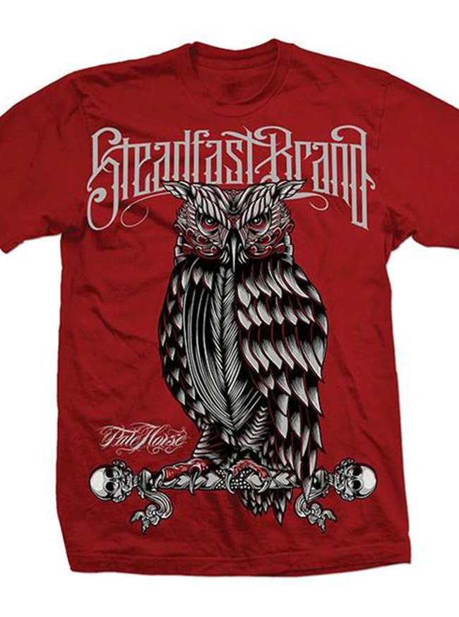 Men's Perched Owl Tee by Steadfast Brand