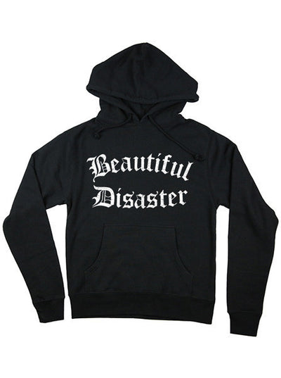 "Women's ""Punk Princess"" Hoodie by Beautiful Disaster (Black) - www.inkedshop.com"