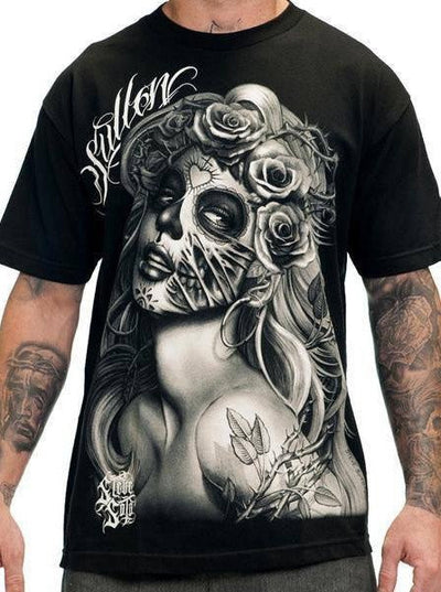 "Men's ""Querida Muerta"" Tee by Sullen (Black)"