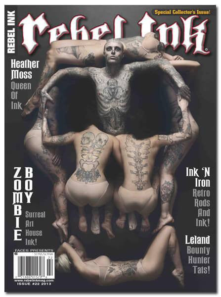 Rebel Ink: 2013 - Zombie Boy - www.inkedshop.com
