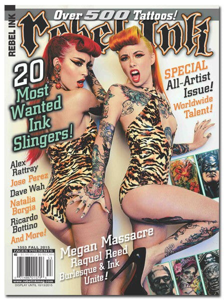 Rebel Ink: Fall 2015 - Most Wanted Ink Slingers - www.inkedshop.com