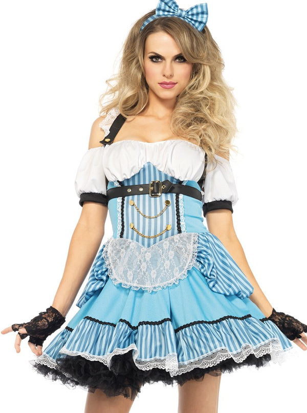 Women's Rebel Alice Costume by Leg Avenue