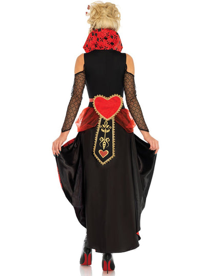 "Women's ""Rebel Queen"" Costume by Leg Avenue (Red)"