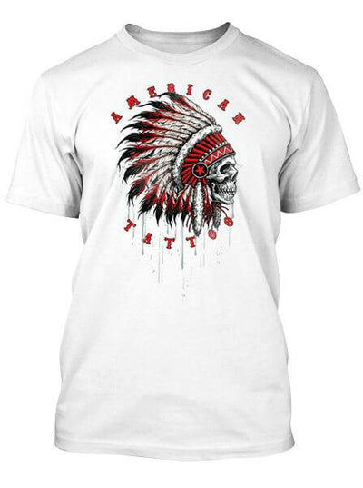 "Men's ""American Tattoo"" Tee by 7th Revolution (More Options) - www.inkedshop.com"