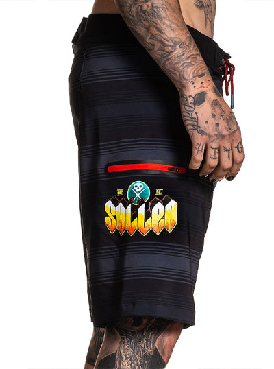 Men's Reza Por El Surf Boardshort by Sullen