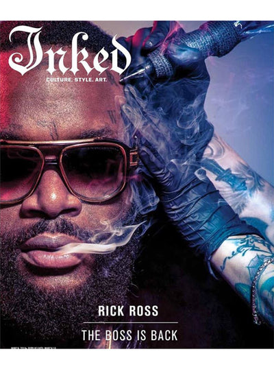 Inked Magazine: The Pin-up Issue / Rick Ross (2 Cover Options) - March 2018
