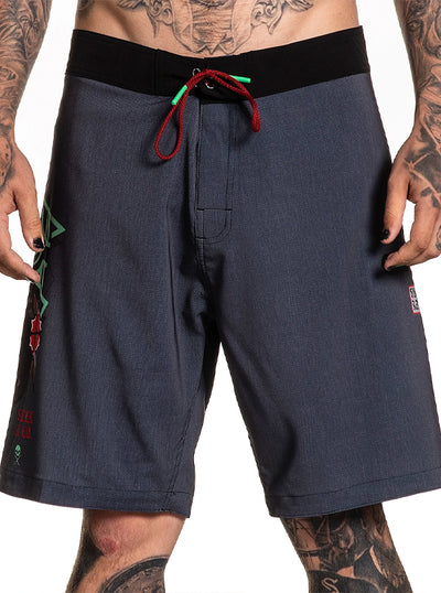 Men's Rigoni Skull Boardshort by Sullen