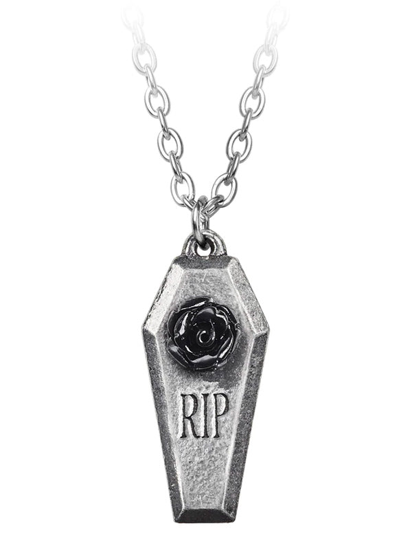 RIP Rose Pendant by Alchemy of England