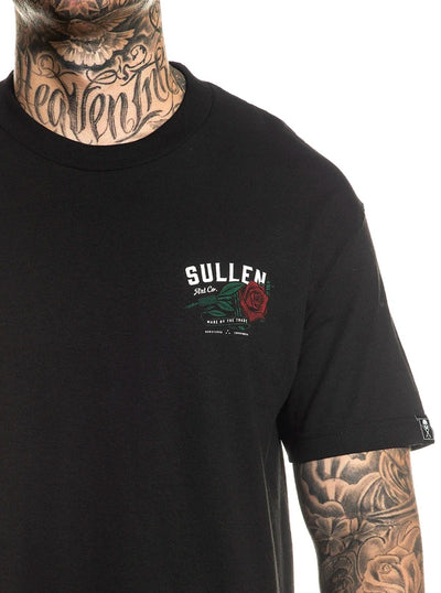 Men's Red Rose Tee by Sullen