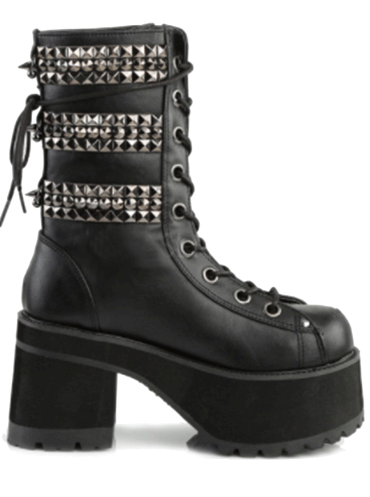 Ranger 305 Vegan Leather Heel by Demonia