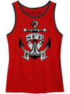 "Men's ""SFB Anchor"" Tank by Steadfast Brand (Red)"
