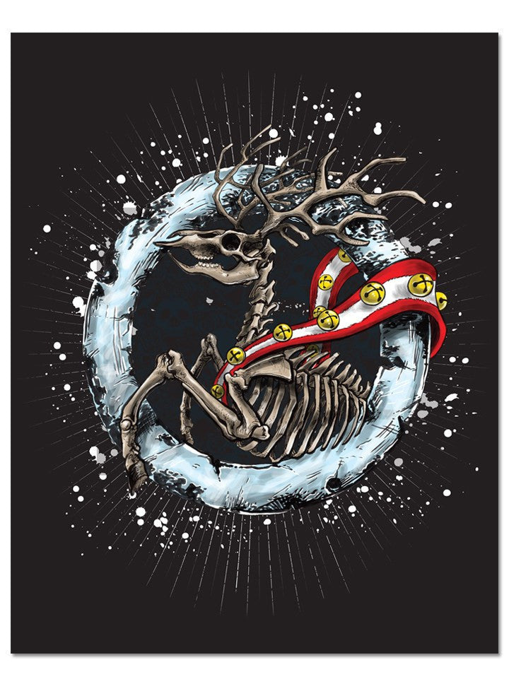 """Reindeer"" Print by Fuzzed Up Bear for INKED - www.inkedshop.com"