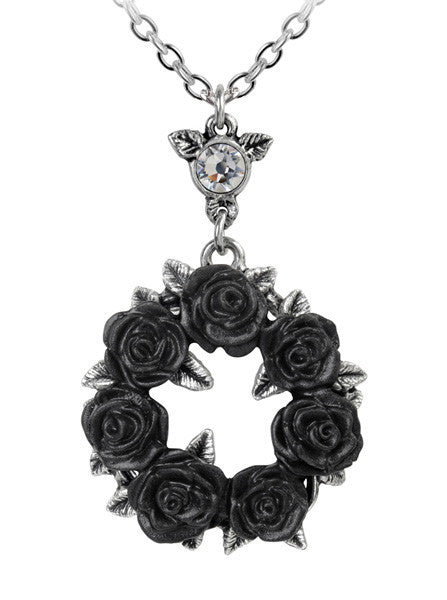 """Ring 'O Roses"" Pendant by Alchemy of England - www.inkedshop.com"