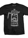 "Men's ""Rise & Grind"" Tee by Steadfast Brand (Black)"