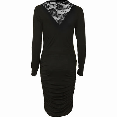 Women's Blood Rose Lace Midi Dress by Spiral USA