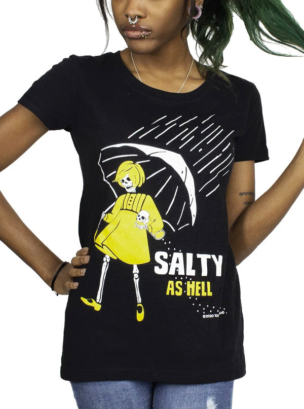 Women's Salty As Hell Tee by Too Fast