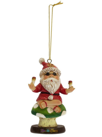 Zen-Ta Claus Holiday Ornament