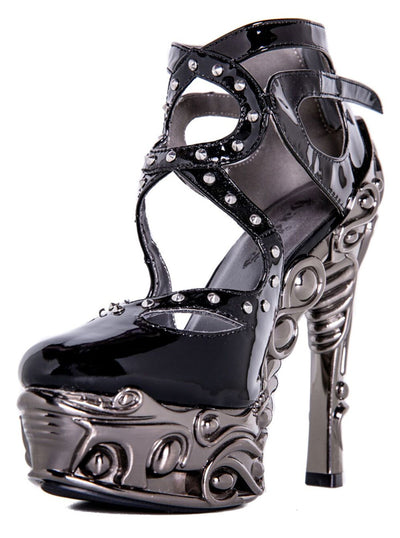 """Sao"" Heels by Hades (Black)"