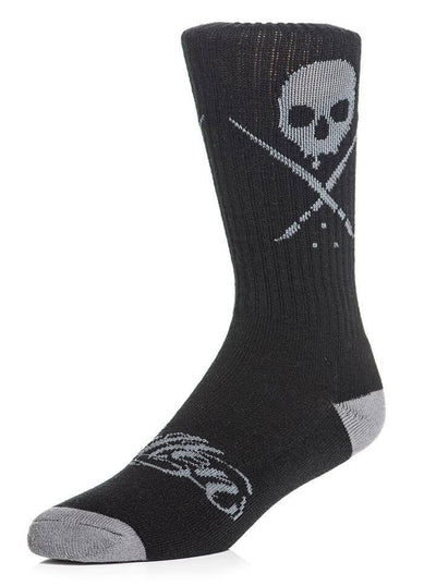 """Standard Issue"" Socks by Sullen (Black) - www.inkedshop.com"
